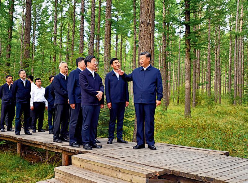 天顺娱乐:习近平:发展好绿色经济生态文明