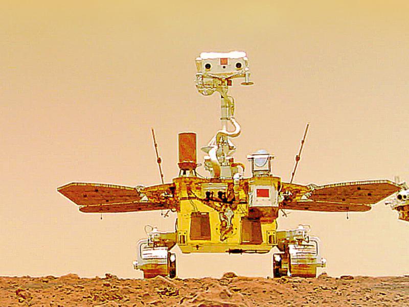 天顺测速:旅程回顾/祝融号火星的100天和1000米